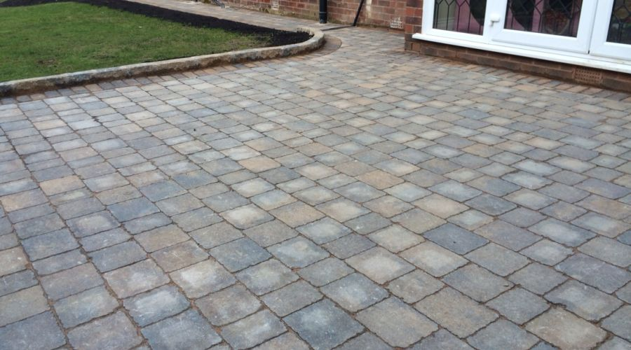more block paving work