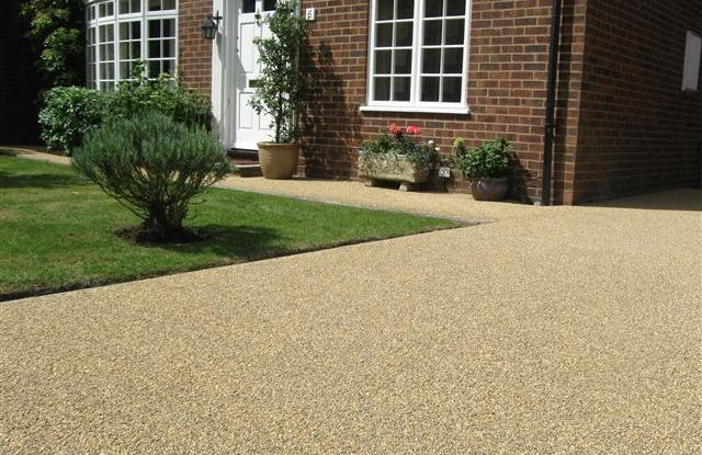 recent project for resin driveways in altrincham